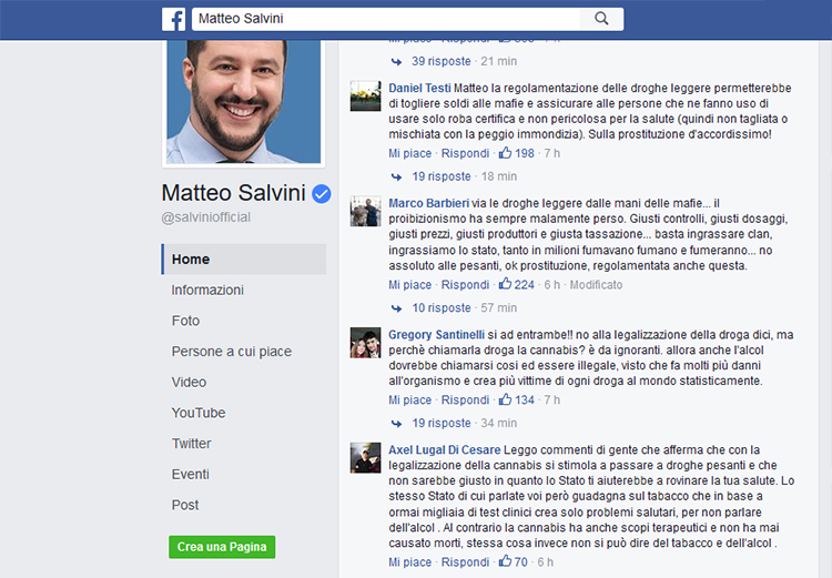 Salvini Commenti