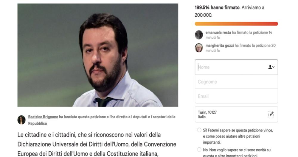 Petizione-Possibile-Salvini