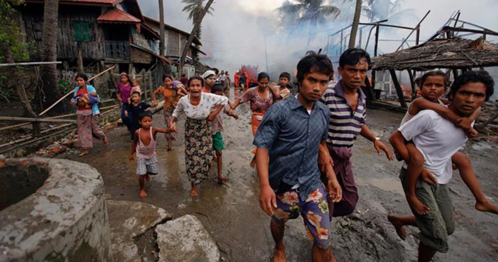 Rohingya-birmania