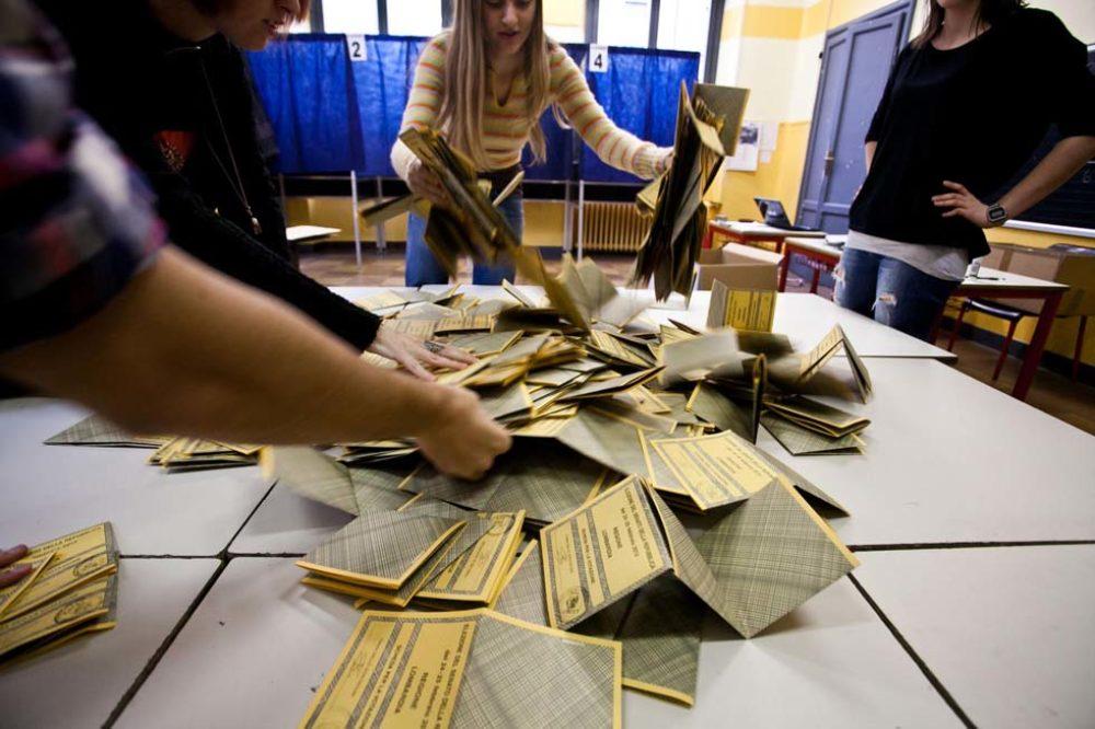 Inizia lo spoglio elettorale a Milano