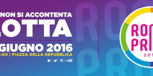 Roma Pride 2016, gli appuntamenti di Possibile