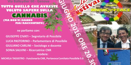 Tutto ciò che vorreste sapere sulla Cannabis, stasera a Genoa