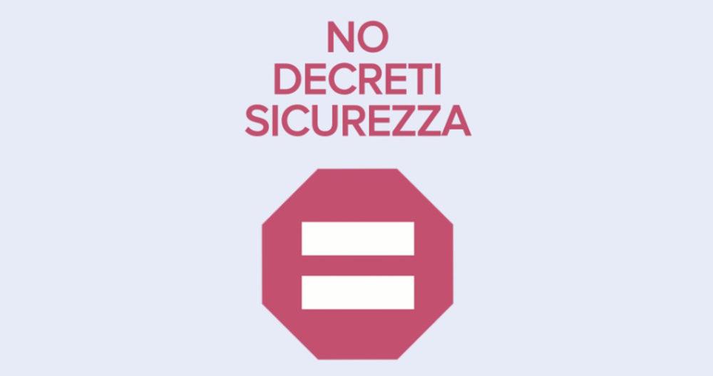 no-decreti-sicurezza