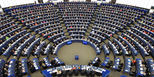 Members of the European Parliament take