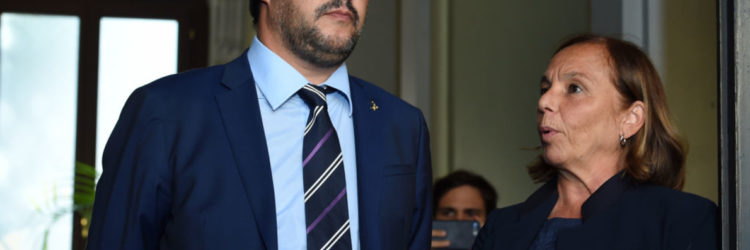 Italy's Minister For Internal Affairs Meets The Hungarian Prime Minister