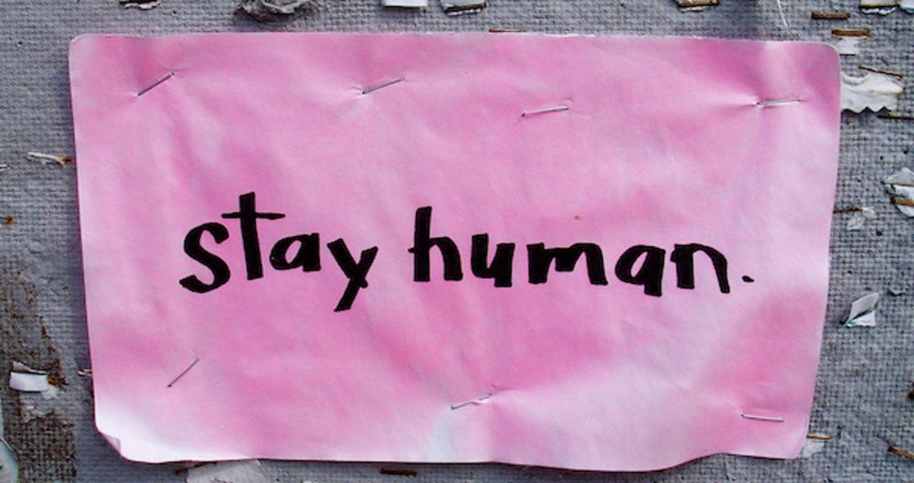 stay-human